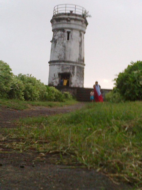 the old lighthouse - ant view