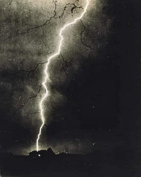Public Domain - 1882. See: http://en.wikipedia.org/wiki/File:Lightning_1882.jpg