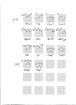Guitar Lesson - playing jazz standards, chords