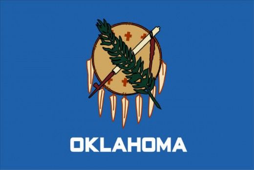 Current Oklahoma State Flag