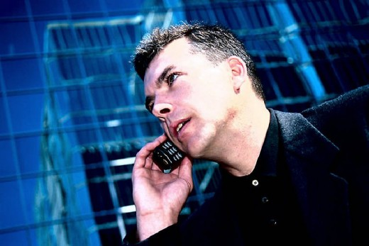 Cell phones go public but should you talk on one in public?