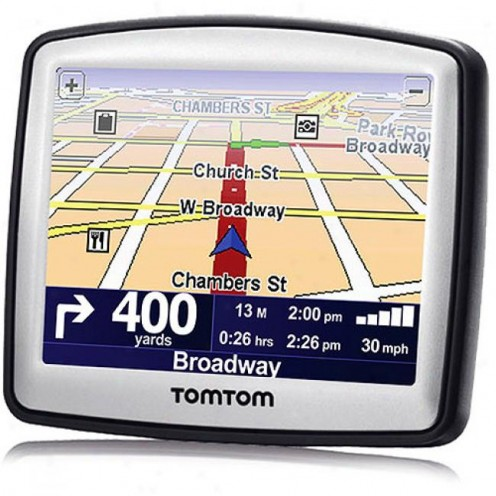 This is what my GPS looked like BEFORE I tossed her out the car window.