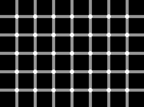 Are little black dots appearing for you too?