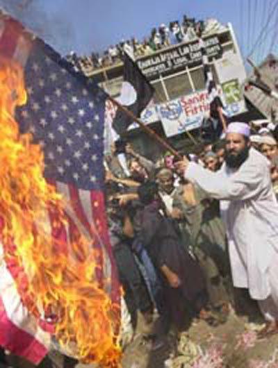 Burning our Flag