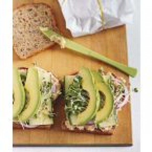 You can make this sandwich by also adding avocadoes.