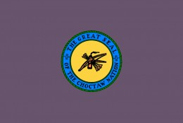 The Choctaw Flag