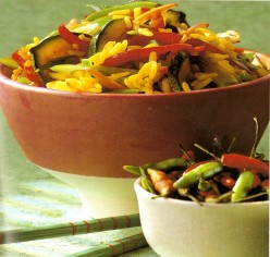 Great side dish chinese vegetable rice