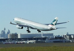 Cathay Pacific. No. 10 World's Safest Airlines