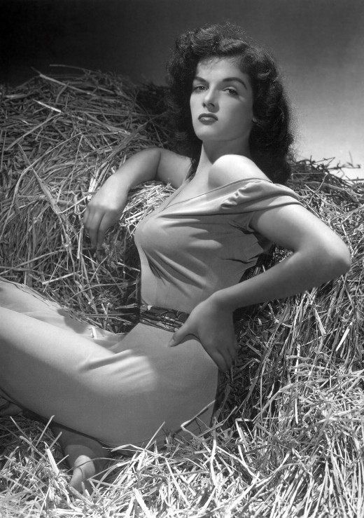 "The famous ""hay"" pin up"