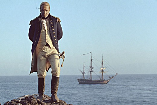 Russell Crowe is Jack Aubrey - Master and Commander of H.M.S Surprise