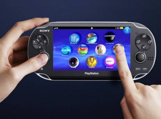 Playstation Vita 5-inch touch screen