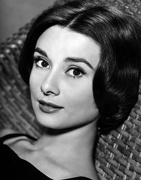 Audrey Hepburn face close up