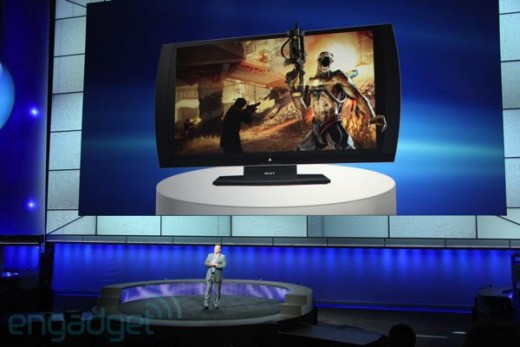 The all new PlayStation 3D Display