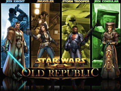 The Star War The Old Republic Characters and heroes