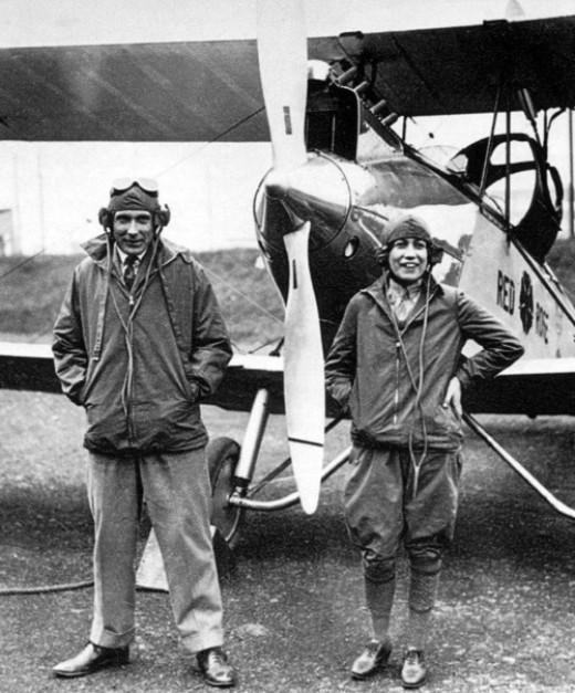 'Lovebirds' - Bill Lancaster and 'Chubbie' Miller