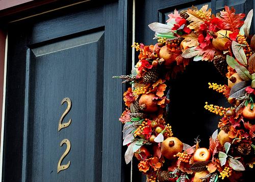 Beautiful Mabon Wreath