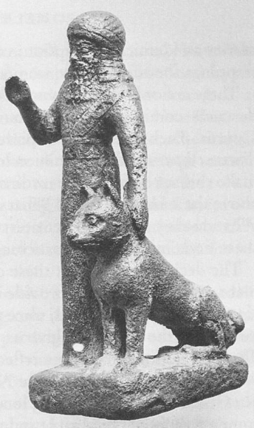 Babylonian Bronze Art Casting