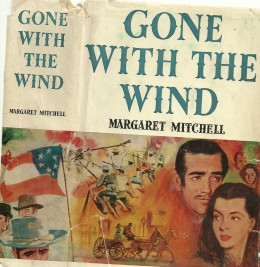 """""""Gone With the Wind"""" sweeps movie fans' choices: best movie, best movie kiss, best dialogue one-liner."""