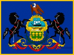 William Penn Family Coat of Arms - Pennsylvania State Flag
