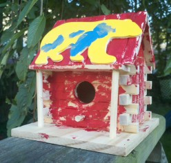 Not So Lazy Days: Housing the birds