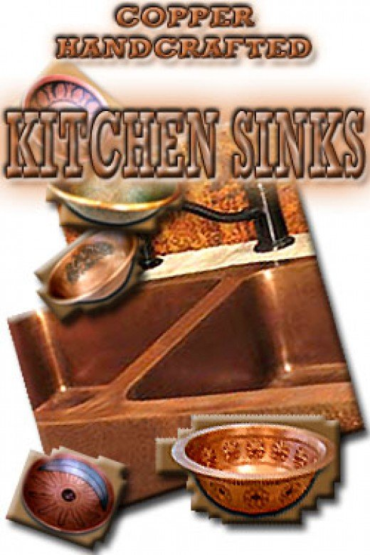 Copper Handcrafted Kitchen Sinks are a beautiful addition to any kitchen design!