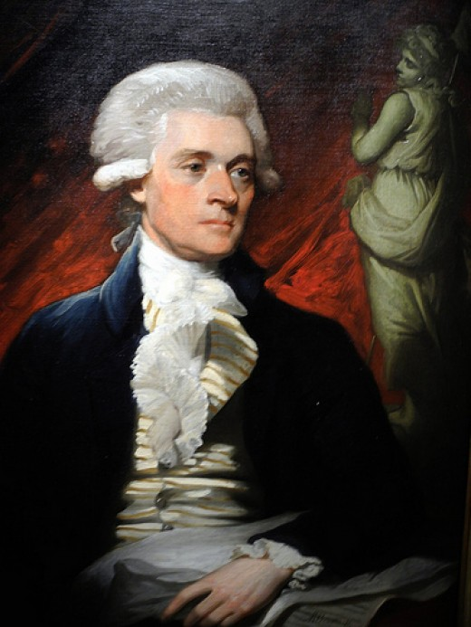 Jefferson was a bit of a fop when he was in France but he turned out so well.