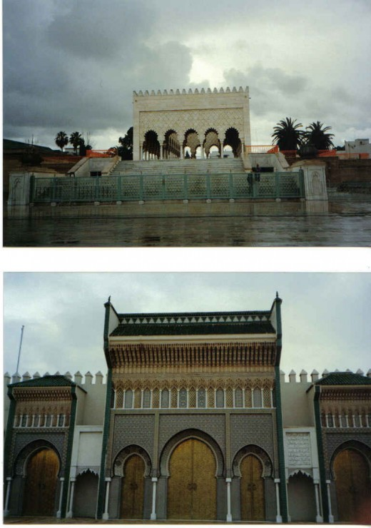 Kings palace in Fez, Morocco