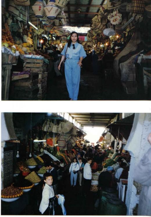 Market, Morocco -  Medina, Meknes, Morocco