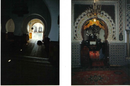 Meknes, Morocco, mausoleum of Moulay Ismai