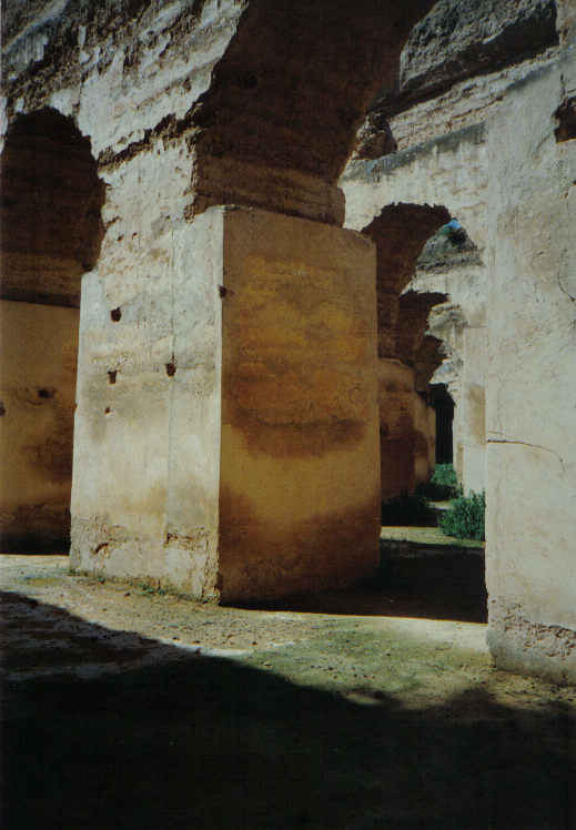 Meknes, Morocco - horses' stables