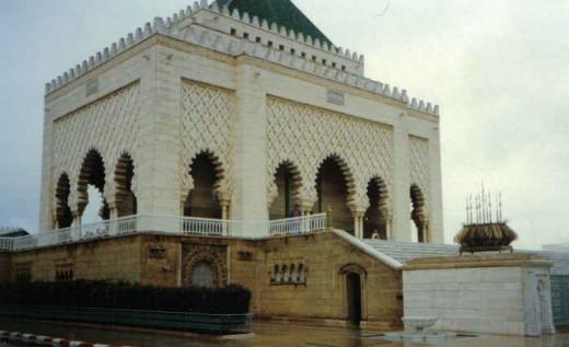 Rabat - Marocco Mausoleum Mohammed V