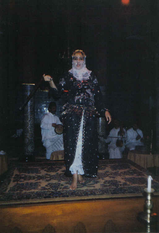 Fashion Show - traditional Morocco Dresses