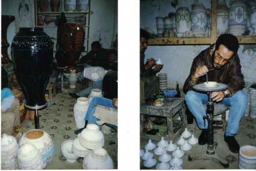 pot/vase makers, Morocco
