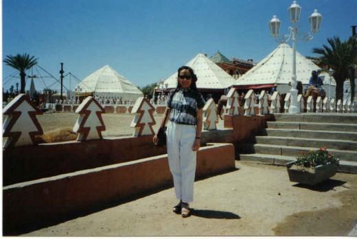 Maroccan cFantasia area