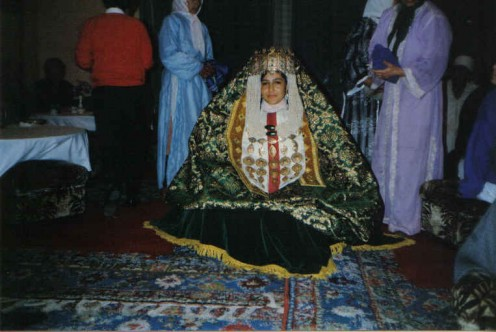 Wedding ceremony - Morocco tradition