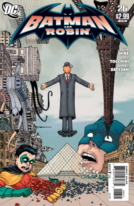 Batman And Robin 26 cover