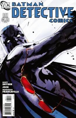 Detective Comics 881 cover by Jock