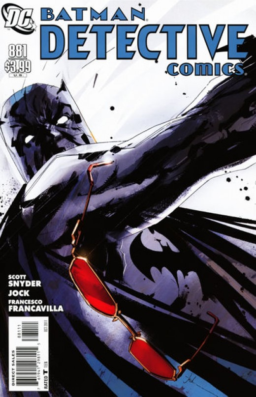 Detective Comics 881 cover by Jock