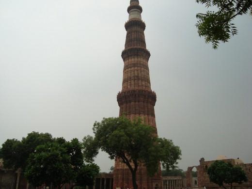 Qutub Minar at Delhi India