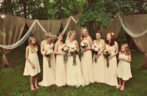 Burlap And Bling How to Use Burlap In Your Wedding Decor And Still Make It