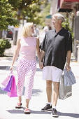 HOW SUTTLE A WIFE CAN BE IS SEEN HERE BY HER CASUALLY-CONVINCING HER NEW HUSBAND TO GO SHOPPING ALL DAY INSTEAD OF WATCHING THE SUPER BOWL--BY USING THE WIVES CODE