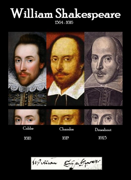 Shakespeare's Three Faces