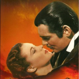 """""""Gone With the Wind"""" is the No.1 choice of movie-going fans who voted their favorites."""