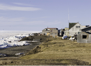 Point Barrow, Alaska community.