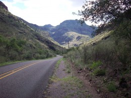 Scene from Ranch to Market Road 1832 in the Davis Mountains in northeastern Jeff Davis County, Texas
