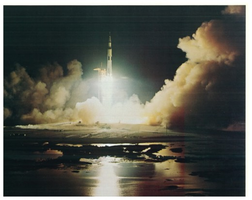 Apollo Rocket Launch from Cape Canaveral