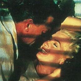 "Marilyn Monroe teases Joseph Cotton to death in ""Niagra""."