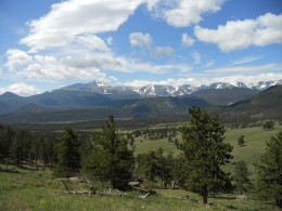 Panoramic View from Deer Mountain Trail