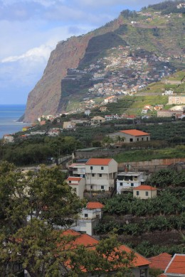 Scenic Landscapes and Seascapes of the World The cliffs of Cabo Girao in Madeira