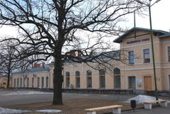 Trainstation of Radviliskis